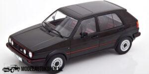 Volkswagen Golf II GTI 1984 (Zwart) (20 cm) 1/18 Model Car Group