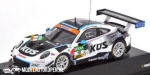 Porsche 911 GT3 R #18 A.D. Leener (Zwart/Wit) (12 cm) 1/43 CMR Limited Edition