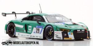 Audi R8 LMS #29 C. De Philippi (Wit/Turquoise) 1/43 CMR Limited Edition