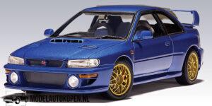 Subaru Impreza WRX Sti (Blauw) (25cm) - AutoArt 1:18