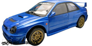 Subaru Impreza (Blauw) (25cm) Solido 1:18