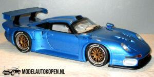 Porsche 911 GT 1 (Blauw) (24cm) UT models 1:18