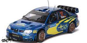 Subaru Impreza WRC No. 17 (Blauw) (25cm) Sun Star 1:18