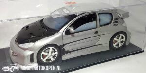 Peugeot 206 MTK Targa Collection Tuning (25cm) (Zilver) 1:18 Solido
