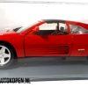 Ferrari 348TS (Rood) (26cm) + Showcase 1:18 Maisto