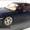 Porsche 911 Turbo 1999 (Blauw) (26cm) + Showcase 1:18 Bburago