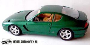Ferrari 456 GT (Groen) (24 cm) 1/18 Bburago
