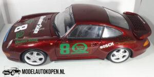 Porsche 911 Turbo (Rood) (24cm) UT models 1:18