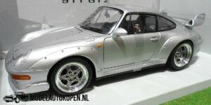 Porsche 911 GT 2 (Zilver) (24cm) UT models 1:18
