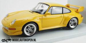 Porsche 911 GT2 (Geel) (24cm) UT models 1:18