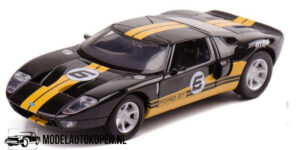 Ford GT Concept (Zwart/Geel) (20 cm) 1/24 Motor Max GT Racing
