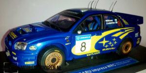 Subaru Impreza WRC (Blauw) (25cm) Sun Star 1:18