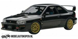 Subaru New Age Impreza WRC (Zwart) (25cm) - AutoArt 1:18