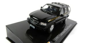 1997 Chevrolet Blazer Executive (Zwart) (10 cm) 1/43 Atlas