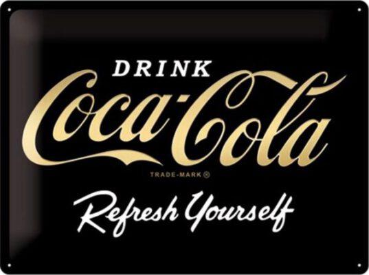 Scoor nu je Coca-Cola Signs