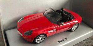 BMW Z8 (Rood) (10 cm) 1/43 AutoMaxx Collection