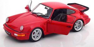 Porsche 911 Turbo (Rood) (22 cm) 1/18 Solido