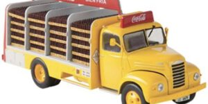 Ebro b-45 Coca-Cola 1962 (Geel) (15 cm) 1/43 Atlas