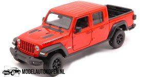 Jeep Gladiator 2020 (Oranje) (10 cm) 1/43 Welly