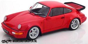 Porsche 911 3,6 Turbo (Rood) (22 cm) 1/18 Solido