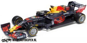 Red Bull Honda RB16 Max Verstappen - Winner Abu Dhabi GP 2020 (Donkerblauw) (12 cm) 1/43 Bburago