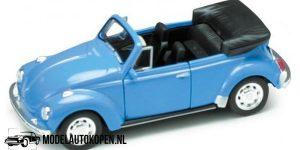 Volkswagen Beetle (Blauw) (10 cm) 1/34 Welly
