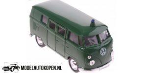 1963 Volkswagen T1 Bus (Groen) (10 cm) 1/34 Welly