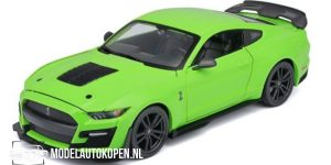 2020 Ford Mustang Shelby GT500 (Groen) (20 cm) 1/24 Maisto