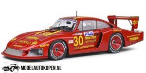 Porsche 935 Mobydick DRM Norisring 1981 (Rood) (25 cm) 1/18 Solido