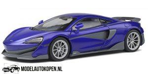 McLaren 600LT 2018 (Blauw) (25 cm) 1/18 Solido