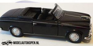 1957 Peugeot 403 (Zwart) (10 cm) 1/43 Welly