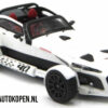 Donkervoort D8 GTO-40 (Wit) (10 cm) 1/43 Limited Edition [65/400pcs]