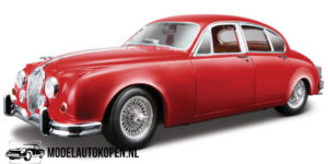 Jaguar Mark II 1959 (Rood) (23 cm) 1/18 Bburago