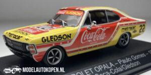 Chevrolet Opala - Paulo Gomes - 1979 Coca-Cola/Gledson (Rood/Geel) (10 cm) 1/43 StockCar