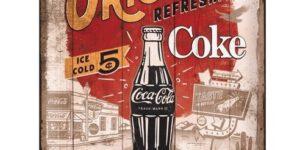 Coca-Cola Metalen Display - Wandbord [Special Edition] 10