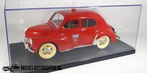 Renault 4 CV Brandweer (Rood) (21cm) 1:18 Solido