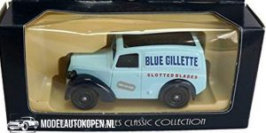 1950 Morris Z Van Blue Gillette (Lichtblauw) (11 cm) 1/43 Days Gone Vanguards
