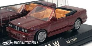 1988 BMW M3 (Rood) (10 cm) 1/43 New-Ray