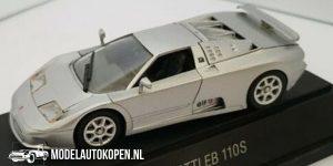 Bugatti EB 110S (Zilver) (10 cm) 1/43 Revell Limited Edition