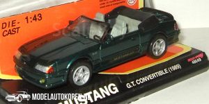 1989 Ford Mustang G.T. Convertible (Groen) (10 cm) 1/43 New-Ray