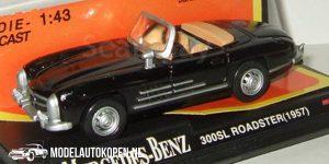 1957 Mercedes-Benz 300SL (Zwart) (10 cm) 1/43 New-Ray