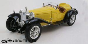 Alfa Romeo 2300 Spider 1932 (Geel) (22 cm) 1/18 Bburago