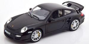 Porsche 911 GT2 (2010) (Zwart) (30cm) 1/18 Norev