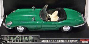 1961 Jaguar E Cabriolet (Groen) (10 cm) 1/43 New-Ray