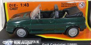 1988 Volkswagen Golf Cabriolet (Groen) (10 cm) 1/43 New-Ray