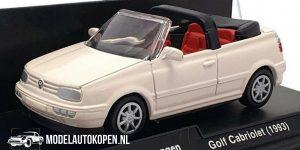 1993 Volkswagen Golf Cabriolet (Wit) (10 cm) 1/43 New-Ray