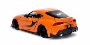 Fast and Furious 9 - 2020 Toyota GR Supra (Oranje) (20 cm) 1/24 Jada