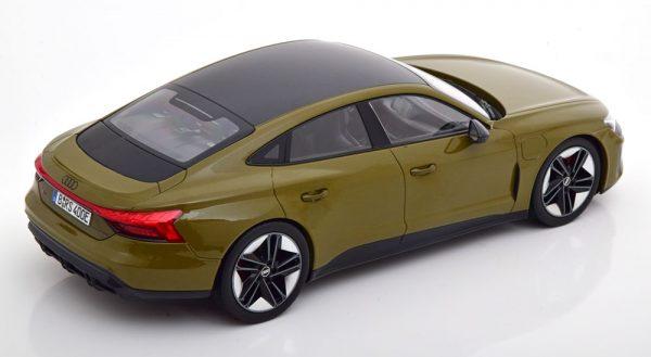 2021 Audi RS e-tron GT (Olijfgroen) (30 cm) 1/18 Norev