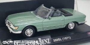 1971 Mercedes-Benz 350SL (Lichtgroen) (10 cm) 1/43 New-Ray