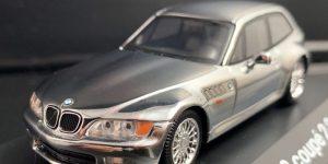 BMW Z3 Coupé 2.8 (Zilver) (10 cm) 1/43 Schuco